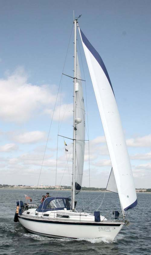 Oceanquest picture required  More Westerly pictures can be found on the Westerly Owners Web site